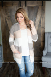 Anaya ColorBlock Cardigan