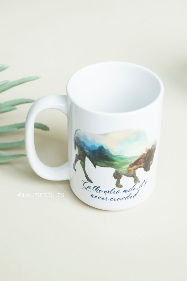 Go The Extra Mile Ceramic Mug