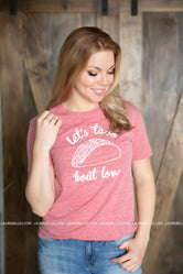 Let's Taco Bout Love Graphic Tee