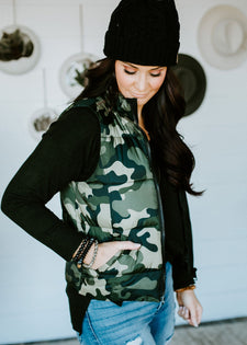 Catch Me If You Can Camo Vest