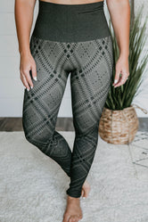 High Waist Plaid Legging FINAL