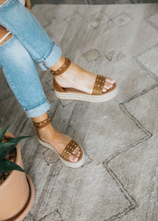 Following Fun Espadrille Sandal