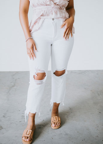 Mocha Striped Contrast Top