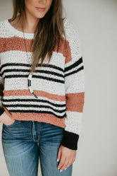 Cade Striped Sweater