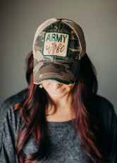 Army Wife Trucker Hat