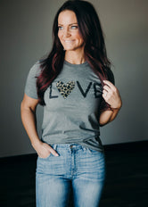 Leopard Love Graphic Tee