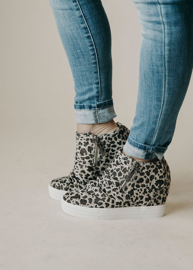 Arabelle Not Rated Wedge Sneaker