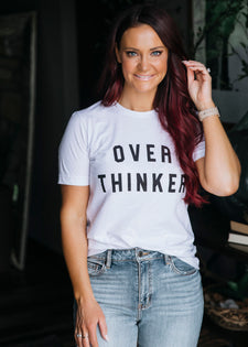 Over Thinker Graphic Tee
