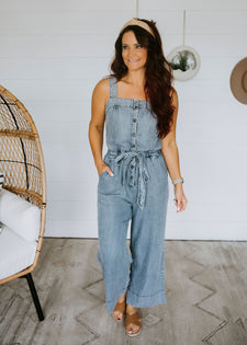 Broderick Denim Jumpsuit