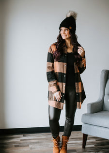 Paxton Plaid Tunic