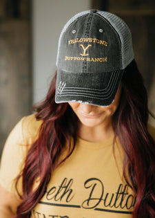 Yellowstone Dutton Ranch Trucker Hat