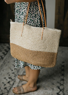 A Shore Thing Straw Tote Bag