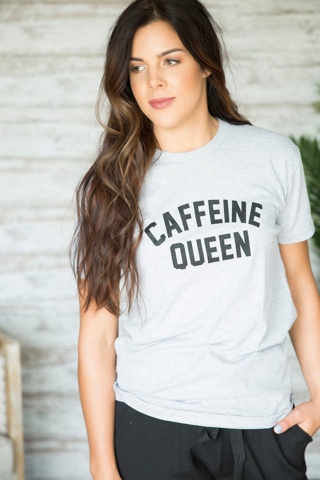 Caffeine Queen Graphic Tee