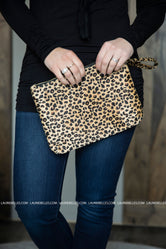 Luxury Life Leopard Clutch