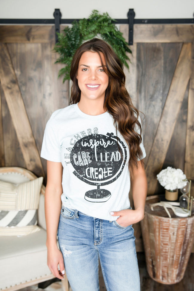 Support Teachers Graphic Tee