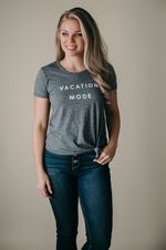 """Vacation Mode"" Tie Knot Graphic Tee"