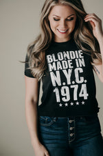 Blondie Crop Graphic Tee