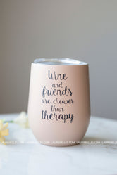 Therapy Wine Tumbler