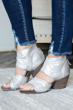 OTBT Patchouli Bright Silver Sandals