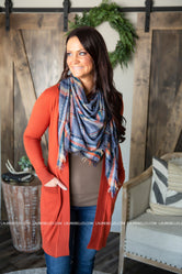 Sheela Plaid Scarf