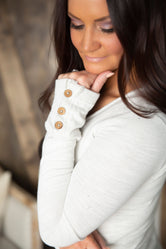 Lily & Lottie Button Cuff Tunic