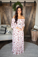 Floral And Grace Maxi Dress