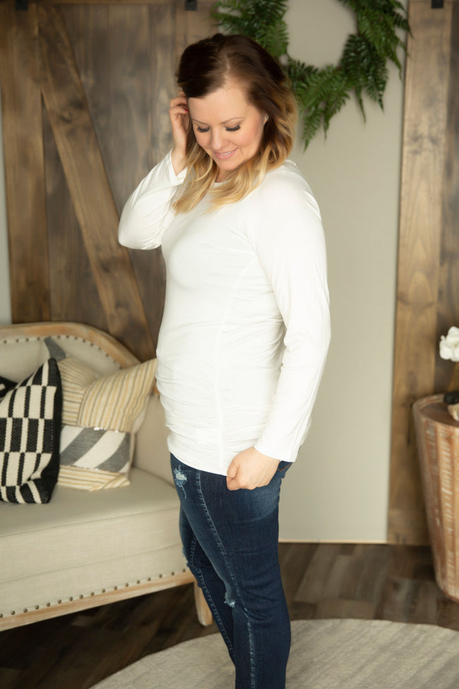 Lily & Lottie Ruched Tunic