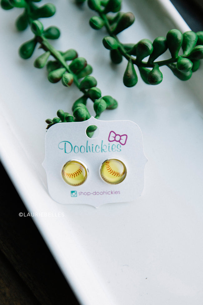 Home Run Earrings (Two Styles)