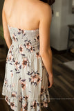 Unforgettable Floral & Stripes Dress (Two Colors)