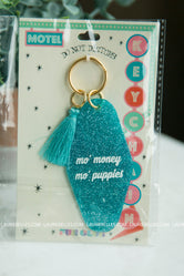 Mo' Money Mo' Puppies Keychain