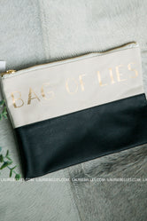 Bag Of Lies Makeup Bag