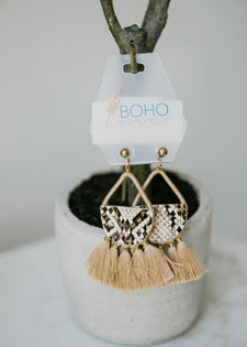 No Hassle Tassel Earrings