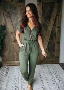 No Hesitations Jumpsuit