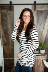 Tip Top Striped Tunic