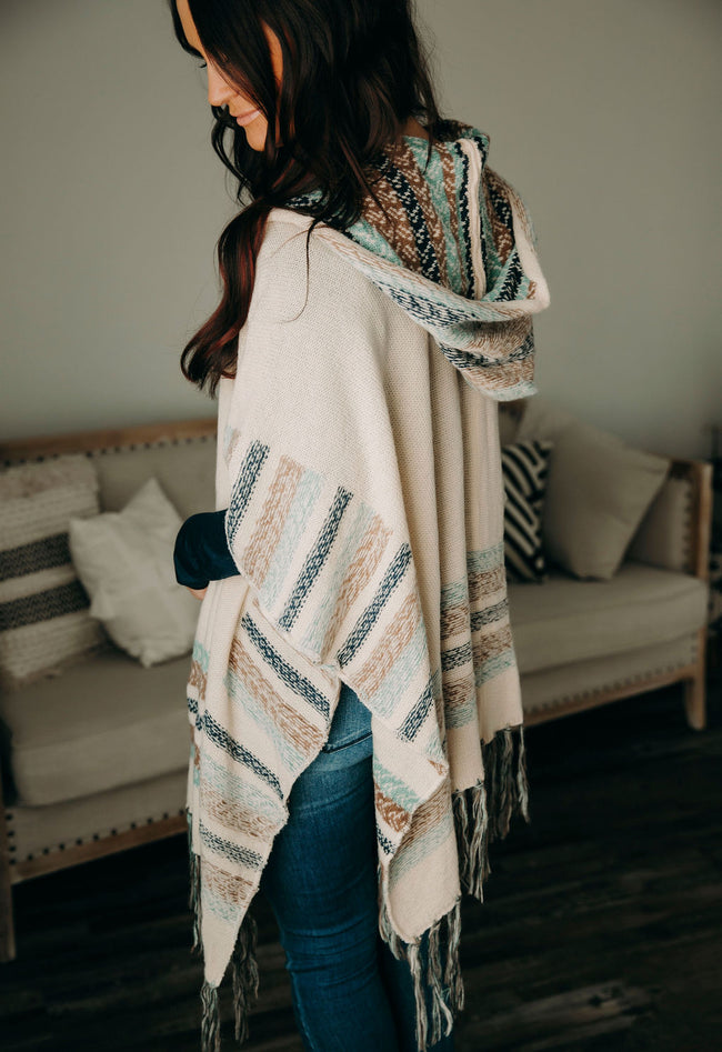 Endless Inspiration Hooded Poncho