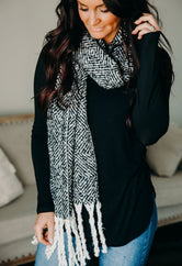 All Bundled Up Long Scarf