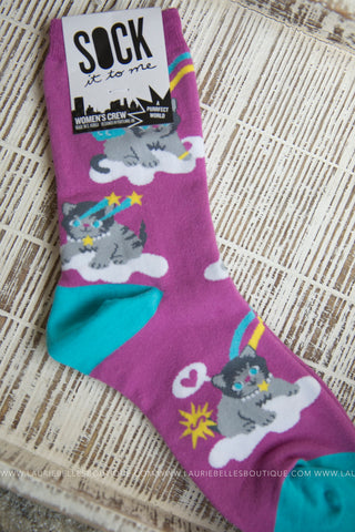 Women's Crew Socks (Several Styles)