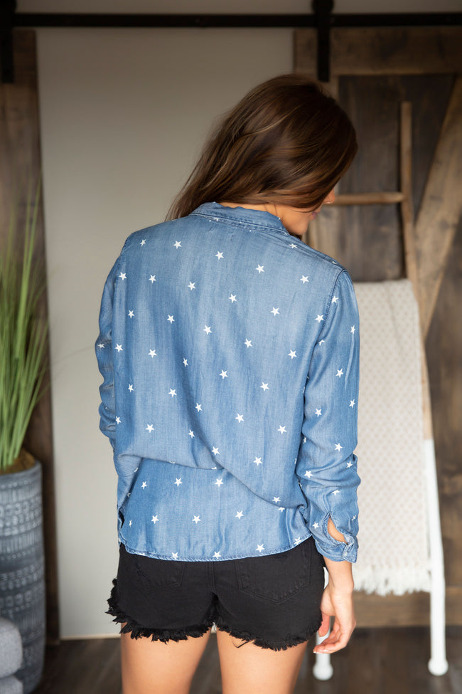 Star Of The Show Button Up Top