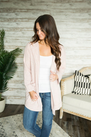 Cozy Nights Hooded Cardigan