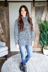 Gloria Cowl Neck Sweater