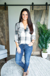 Jamyn Plaid Top