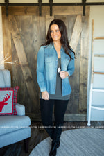 Greeley Denim Top