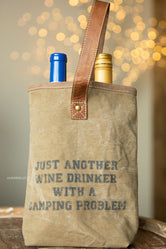 Wine Drinker Double Wine Bag