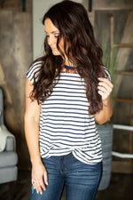 Nathaly Stripe Top