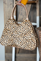 Wildly Wonderful Leopard Bag