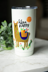 LLive Happy Tumbler