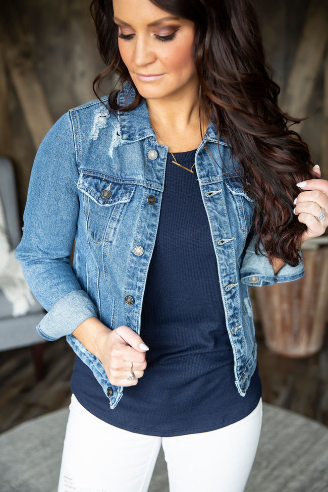 Jackie KanCan Denim Jacket