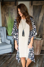 Work The Bloom Kimono