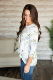 Spring Serenade Floral Top (S-XL/Two Colors)