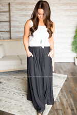 Oversized Solid Palazzo Pants